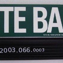 Image of 2003.066.0003 - Sticker