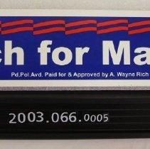 Image of 2003.066.0005 - Sticker