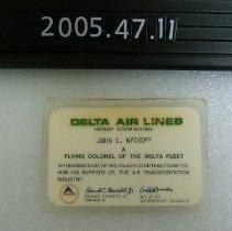 Image of 2005.047.0011 - Card, Membership