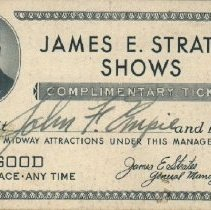 Image of 2005.047.0014 - Ticket, Admission