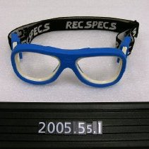 Image of 2005.055.0001 - Goggles
