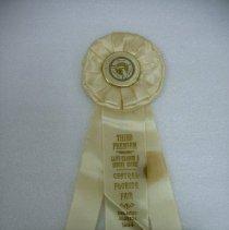 Image of 2006.001.0004 - Ribbon, Prize