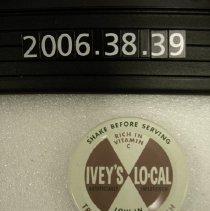 Image of 2006.038.0039 - Cap, Bottle