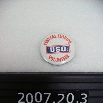 Image of 2007.020.0003 - Button, Military