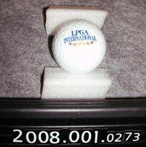 Image of 2008.001.0273 - Ball, Golf