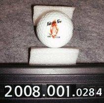 Image of 2008.001.0284 - Ball, Golf