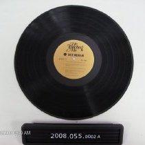 Image of 2008.055.0002a - Album, Record