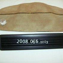 Image of 2008.066.0003 - Cap, Service