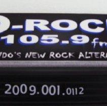 Image of 2009.001.0112 - Sticker, Bumper