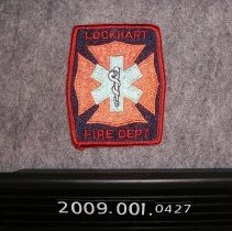 Image of 2009.001.0427 - Patch, Fire