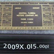 Image of 2009X.015.0001 - Calendar