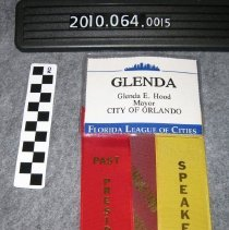 Image of 2010.064.0015 - Badge, Identification