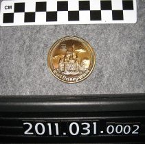 Image of 2011.031.0002 - Coin, Commemorative