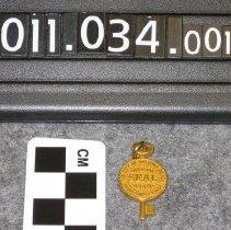 Image of 2011.034.0015 - Pendant, Charm