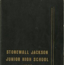 Image of R 371.8 Stonewall Jackson 1966 - Yearbook