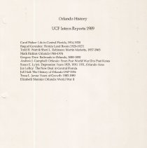 Image of 040.2 UCF 1989 - Book