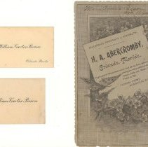 Image of Calling Cards and Advertisemen