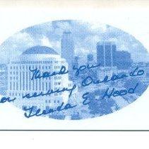Image of 2003.028.0016 - Card, Commemorative