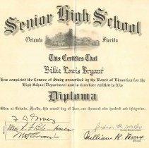Image of 2009.001.0132 - Diploma