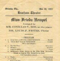 Image of 2009.001.0161 - Program, Theater