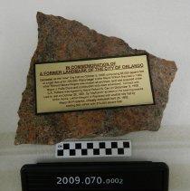Image of 2009.070.0002 - Granite