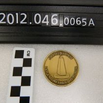 Image of 2012.046.0066a - Medal, Commemorative