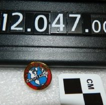 Image of 2012.047.0002 - Pin, Promotional