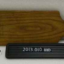 Image of 2013.010.0001 - Paddle, Fraternal