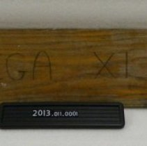 Image of 2013.011.0001 - Paddle, Fraternal