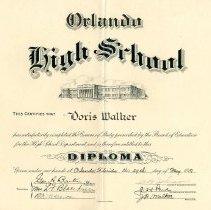 Image of 1981.085.0001 - Diploma