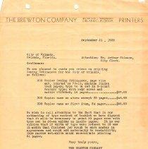 Image of 1989.077.0001 - Correspondence