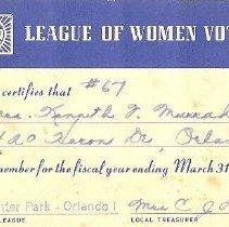 Image of 2013.001.0144 - Card, Membership