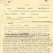 Image of 1987.129.0117 - Affidavit