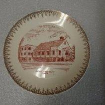 Image of 1991.087.0001 - Plate, Commemorative