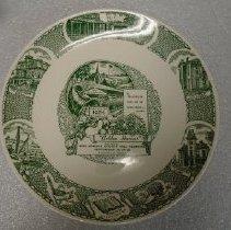 Image of 2001.049.0001 - Plate, commemorative