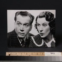 Image of Photograph - Photo - Marian (polka dot dress) & Jim Jordan