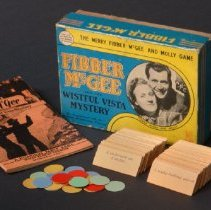 "Image of AR_00009 - Fibber McGee and Molly ""Wistful Vista Mystery Game"""