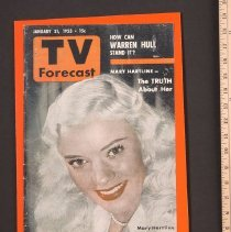 Image of AR_00205 - TV Forecast - w/Mary Hartline [Jan 1953]