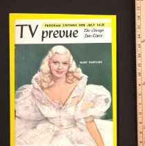 Image of AR_00235 - TV Prevue - w/Mary Hartline on Cover