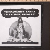 "Image of AR_00267 - WGN ad ""Chicagoland family Television Theatre"""