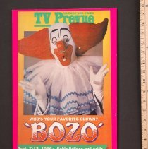 Image of AR_00258 - TV Prevue - w/Close-up of Bozo on Cover