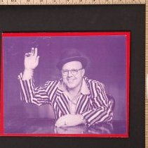 Image of AR_00125 - Photo - Johnny Coons waving
