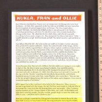 Image of AR_00171 - Kukla, Fran and Ollie information board