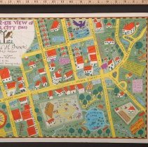 Image of AR_00016 - Poster - Amos 'n' Andy: Eagle's Eye View of Weber City, Pepsodent