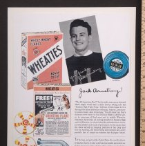 Image of AR_00031 - Jack Armstrong/Wheaties advertisment