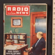 Image of AR_00064 - Radio & Television News - w/ Mr. DuMont on Cover [Nov 1948]