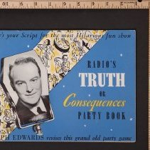 Image of AR_00035 - Book - Radio's Truth or Consequences w/Ralph Edwards [1940]