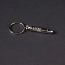 Image of AR_00043 - Key Ring w/attached Silver Bullet; Lone Ranger w/CBN Logo