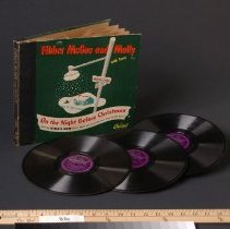Image of Record, Phonograph - Record - Fibber McGee & Molly On the Night Before Christmas