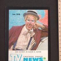 Image of AR_00256 - TV News - w/Ray Rayner as Oliver O. Oliver on Cover [Jun 19-26 1965]